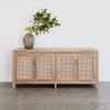 4 door rattan buffet new zealand corcovado furniture store large cabinet sideboard auckland christchurch