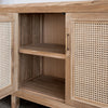 large rattan buffet cabinet nz