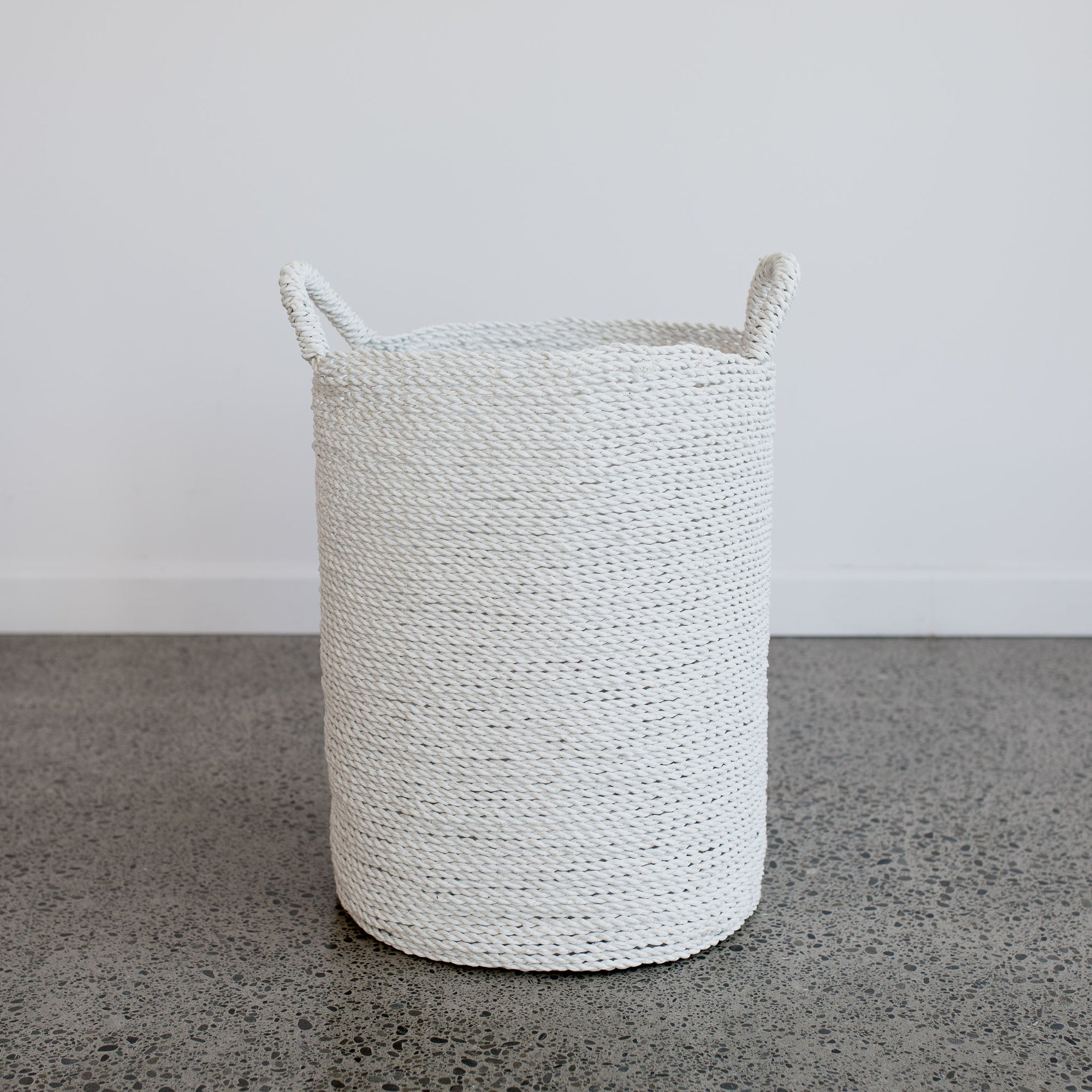 White Basket (L)