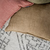 Fenugreek Linen Cushion (with feather inner)