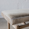 corcovado furniture christchurch auckland ponsonby cowhide ottoman bench seat entrance seat nz