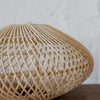 rattan disc small wicker pendant ceiling light lighting nz corcovado auckland christchurch cane light