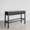 Black Hall Console with Drawers