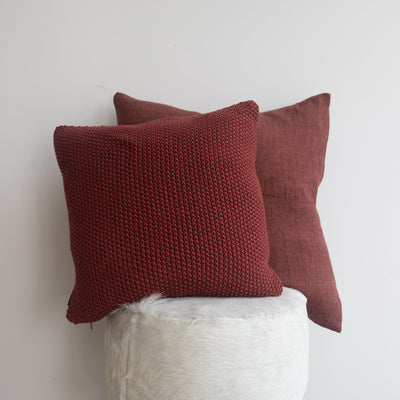 Berry Stitch Cushion