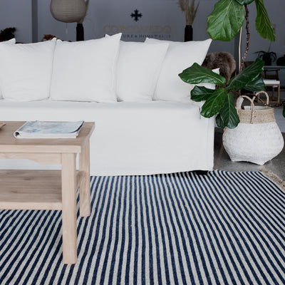 white linen sofa from corcovado furniture new zealand