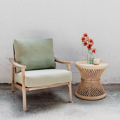 Swiss Arm Chair (Eucalyptus)