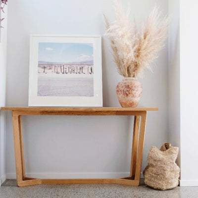 teak hallway console table entrance corcovado store new zealand furniture