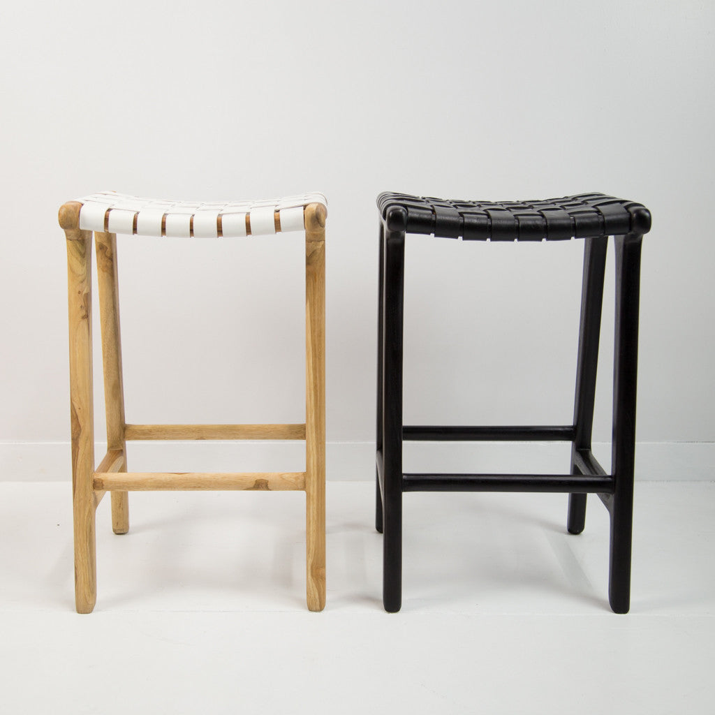 black weave bar stool corcovado