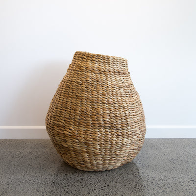 Tall Organic Natural Basket