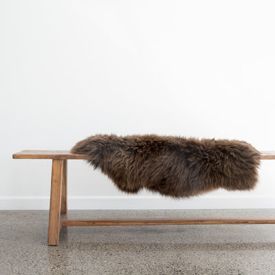 dark brown sheepskin new zealand corcovado furniture store auckland christchurch