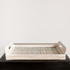 Simple Bamboo Tray (whitewash)