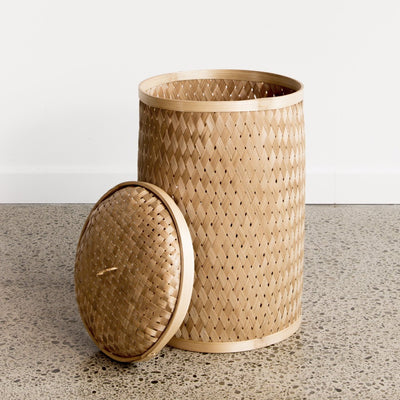 Flax Weave Basket (M)
