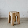 slim teak wood side table by corcovado furniture auckland new zealand rustic decor