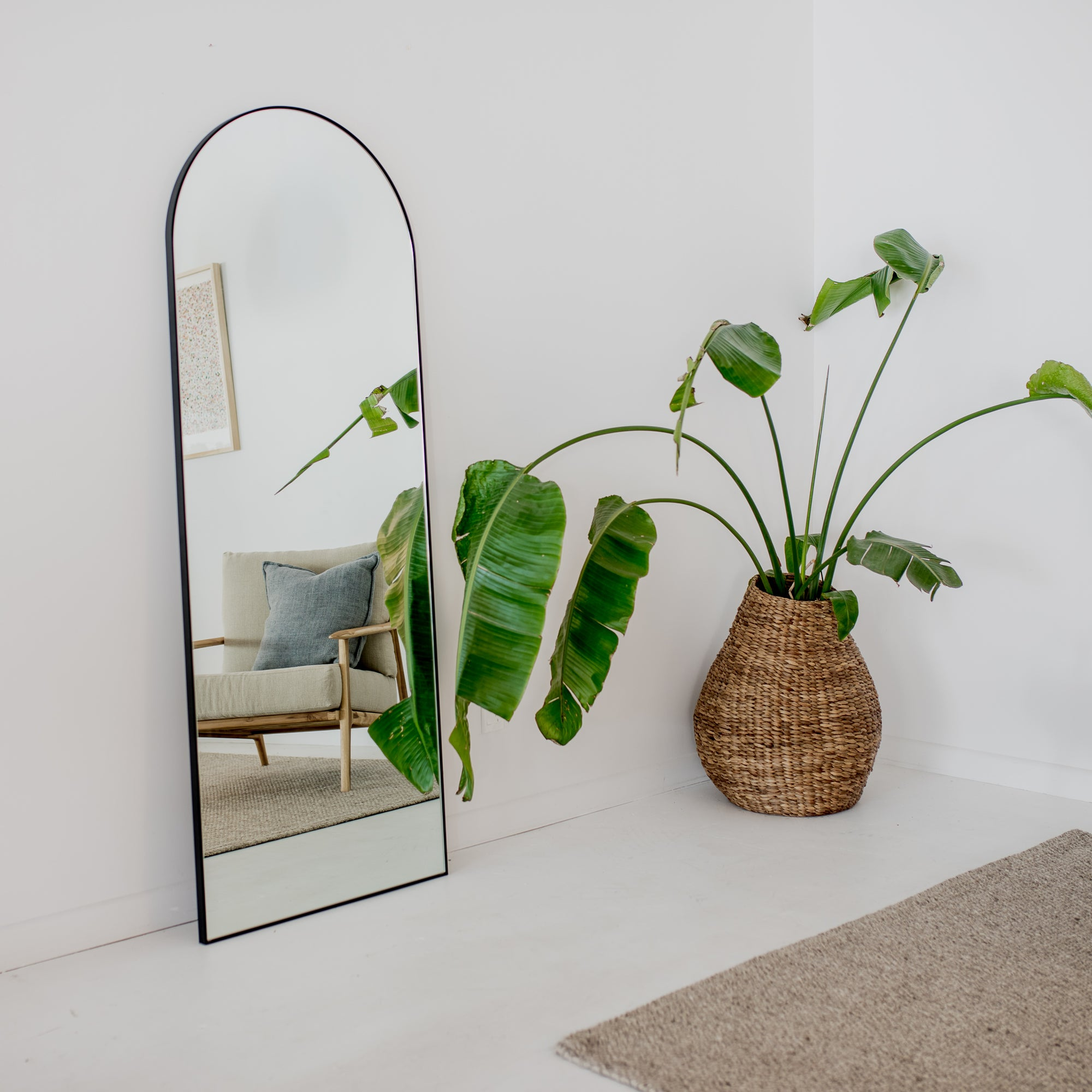tall standing mirror from corcovado furniture arched mirror new zealand