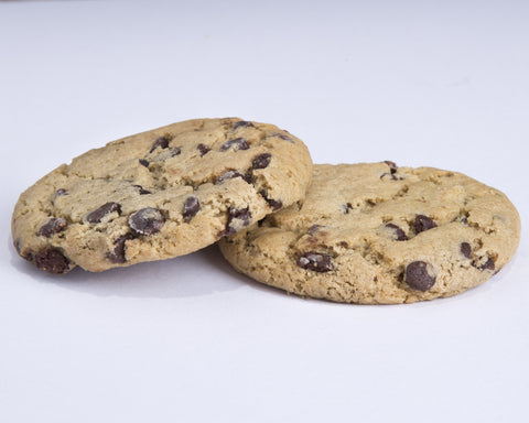 2-pack Vegan Chocolate Chip Cookies (40 mg)
