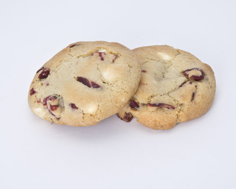 2-Pack White Chocolate Cranberry Cookies (40 mg)