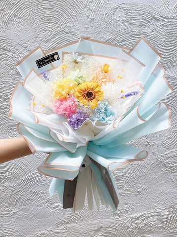 喜樂 保鮮花永生束 Happiness Preserved Flower Bouquet
