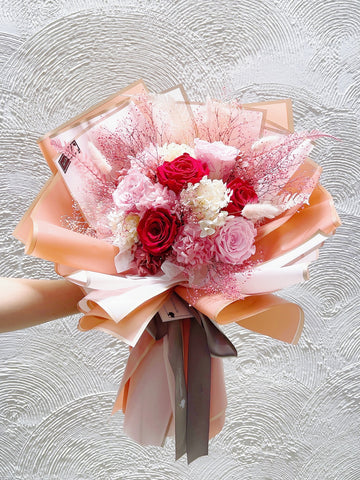 夢幻系生日求婚花束6 枝保鮮花 永生花束 The Princess Preserved Roses Bouquet