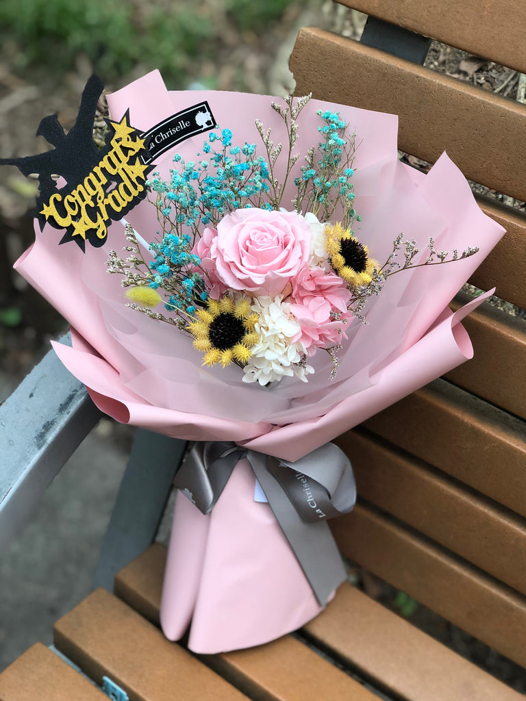 畢業保鮮花束 Graduation Preserved Flower Bouquet