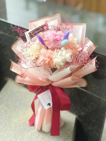 母親節康乃馨保鮮花束 Mother's Day Preserved Bouquet
