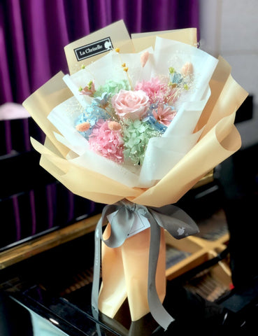 快樂色彩畢業保鮮花束 Graduation Preserved Flower Bouquet