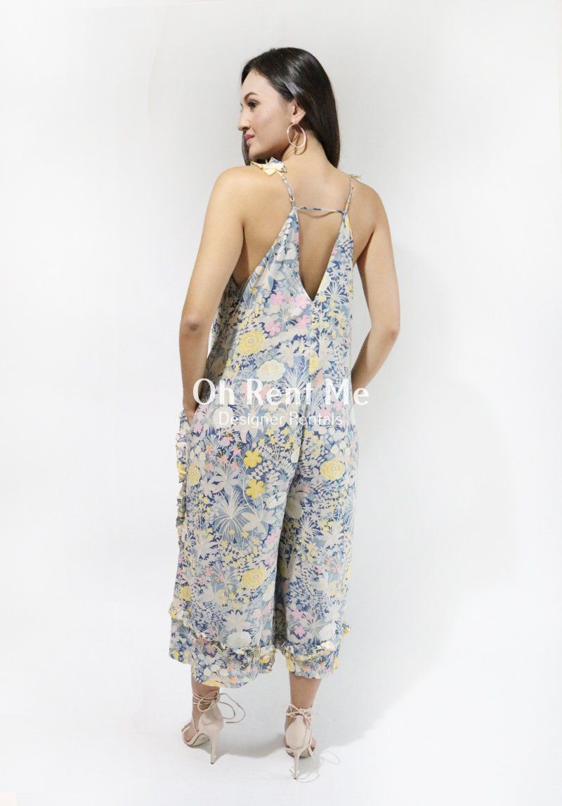 af8ec0853f38 Oh Lady Jumpsuit Gold Bloom Clothing Alice McCall