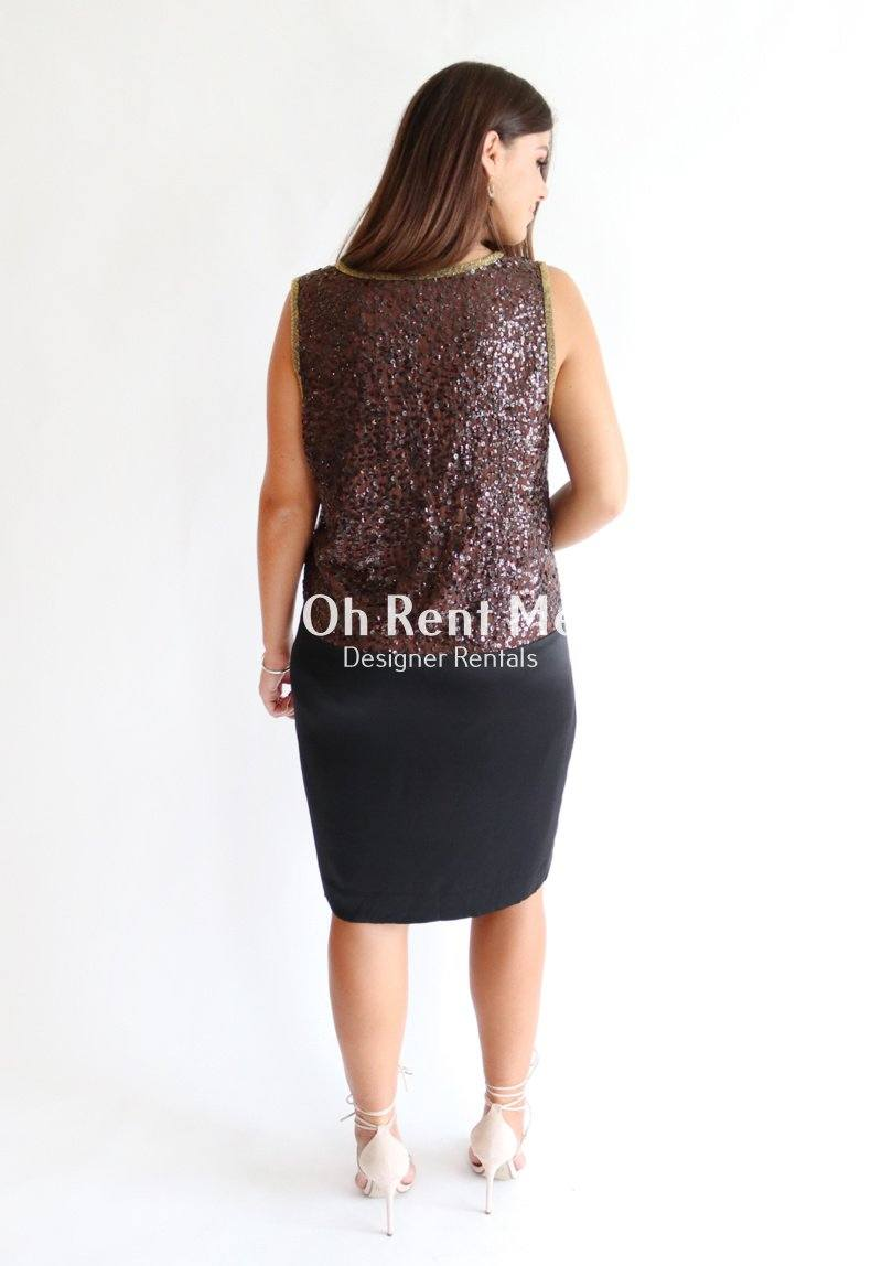 Cocktail Sequin Dress Clothing DKNY