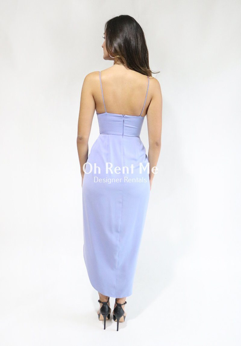 Drape Cocktail Maxi Dress