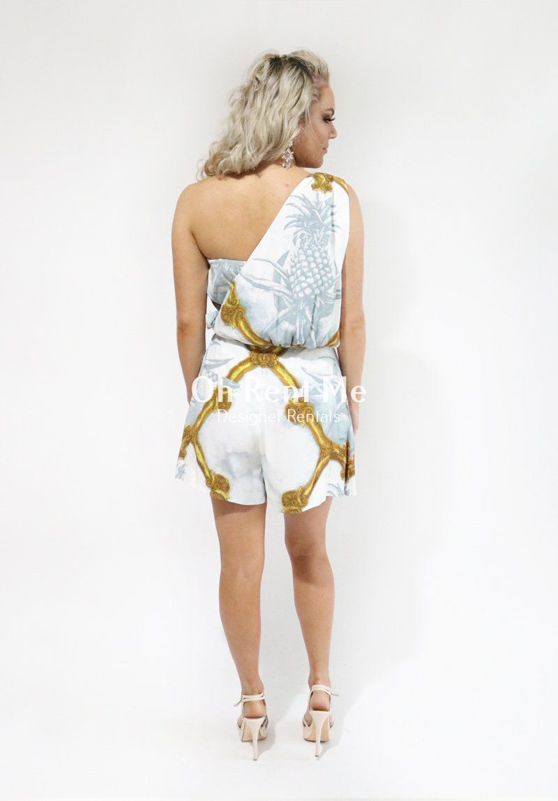 Bliss and Beauty Print Jumpsuit Clothing Sass and Bide