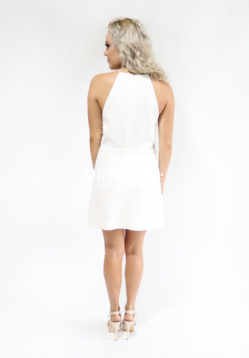 Crepe Harness Dress
