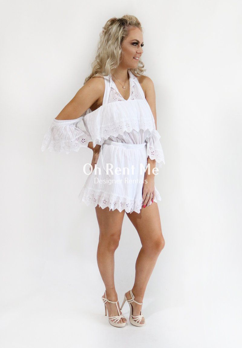 White Room Playsuit Clothing Alice McCall