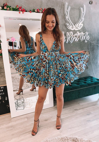 Behati Mini Dress - Floral