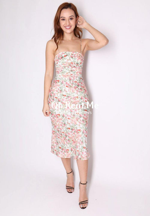 Camellia Delights Midi Clothing Bec and Bridge