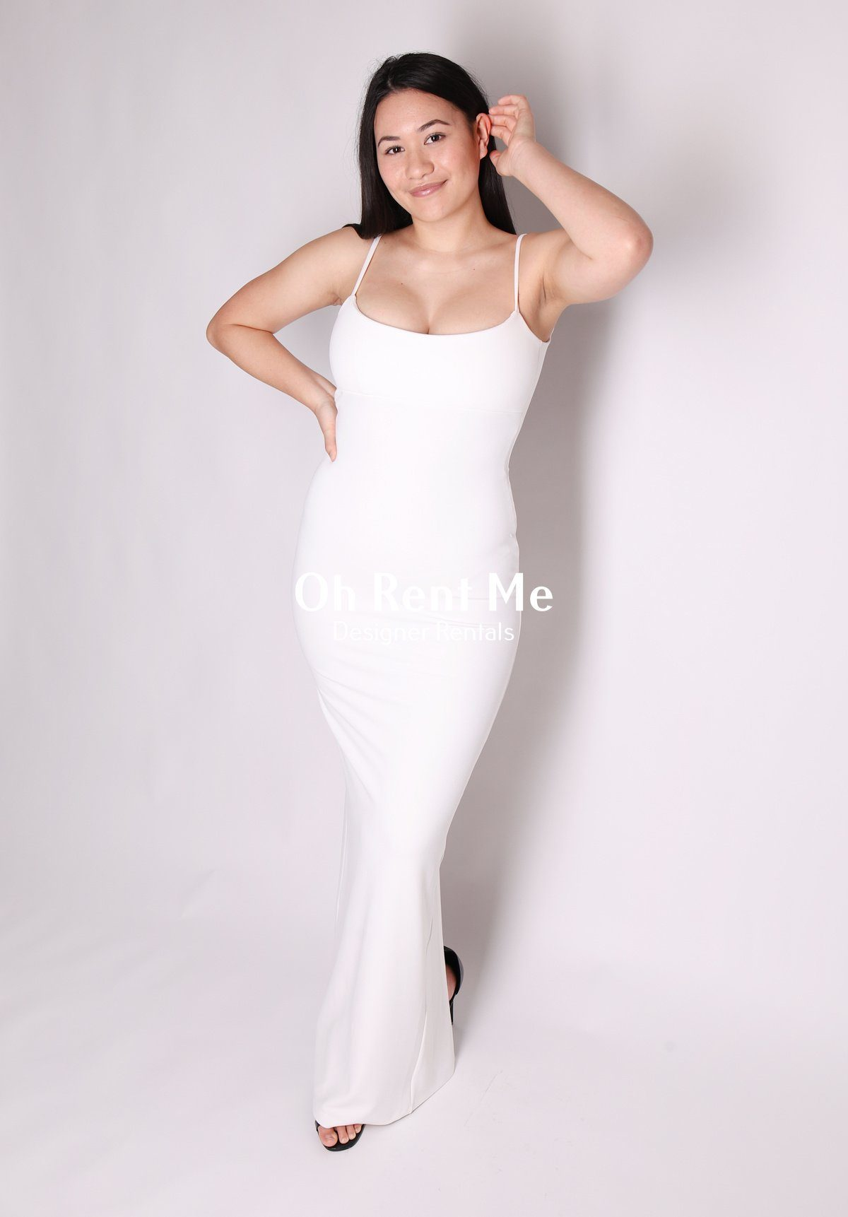 Bailey Gown - Ivory Clothing Nookie