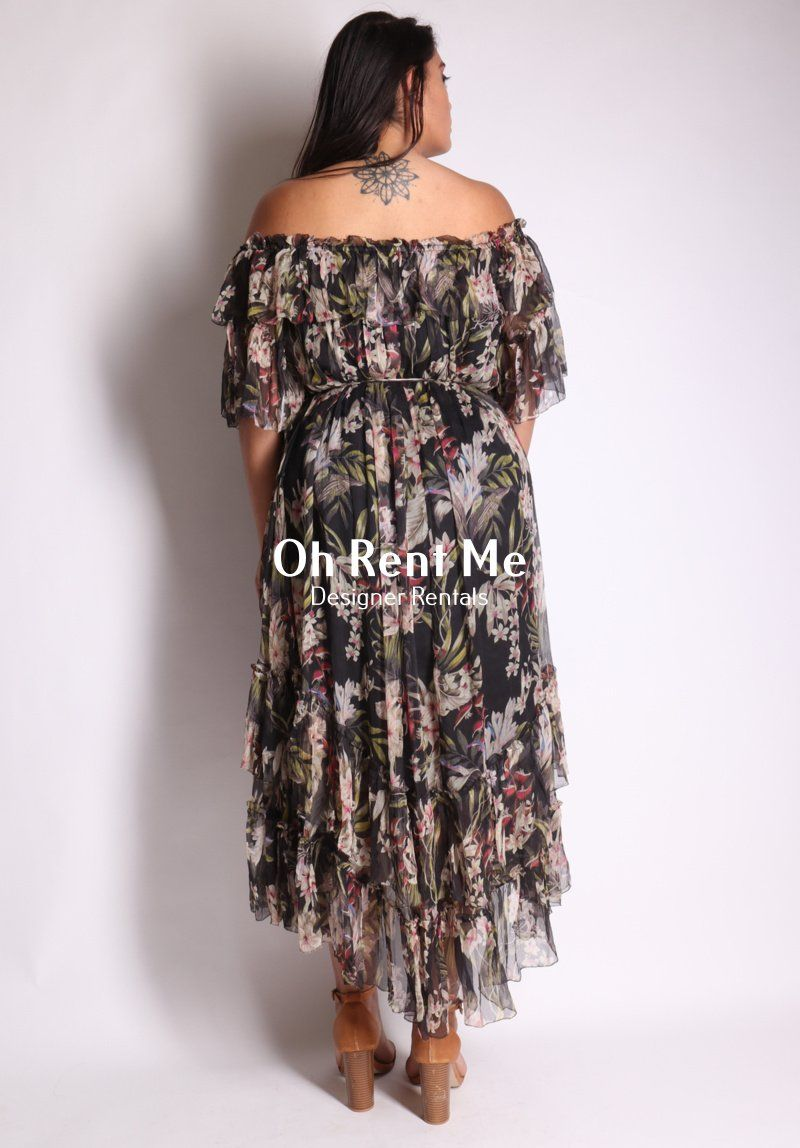 Curacao Palm Dress Clothing Zimmermann