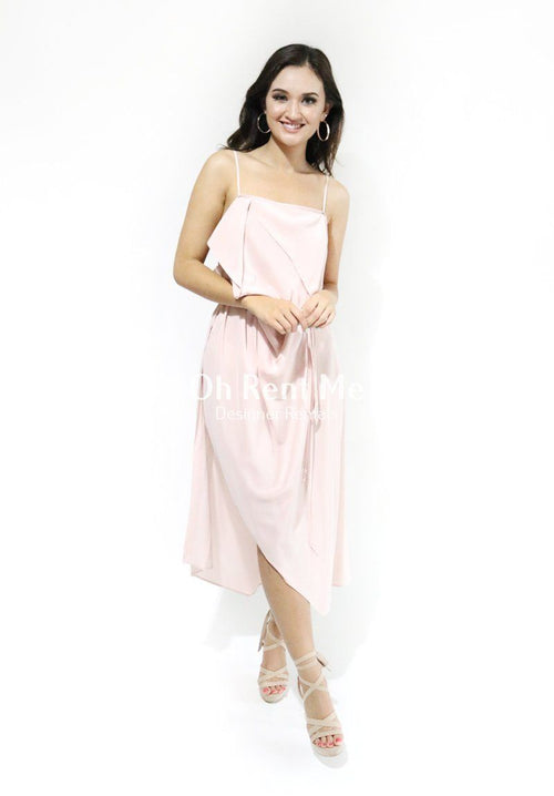 Moonlighting blush dress 2