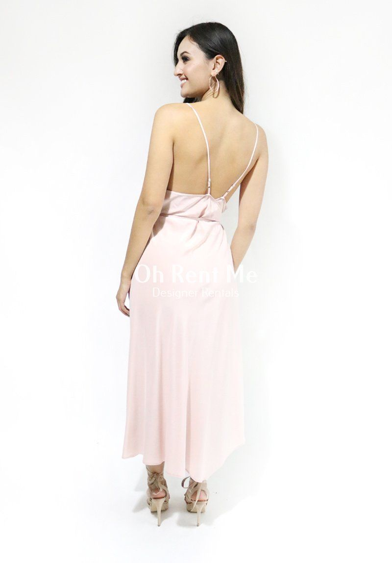 Moonlighting blush dress Clothing Miss Crabb