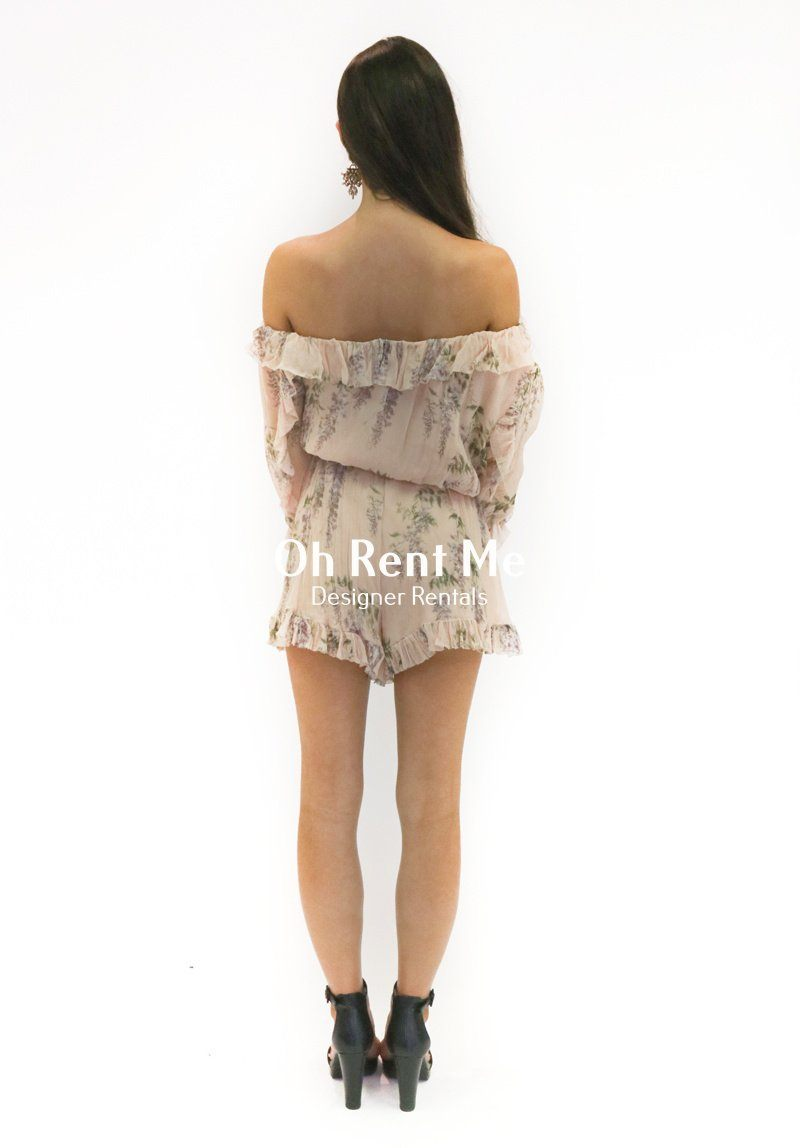 9a2e68a0c8 Folly Whimsy Playsuit Clothing Zimmermann