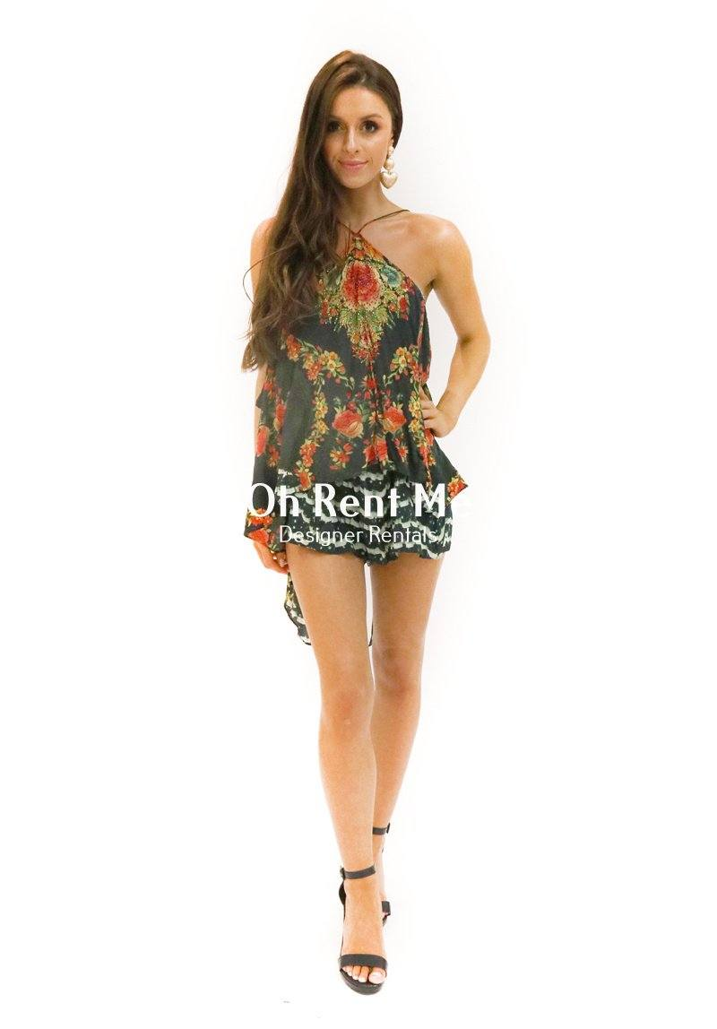 Lift The Veil Playsuit Clothing Camilla