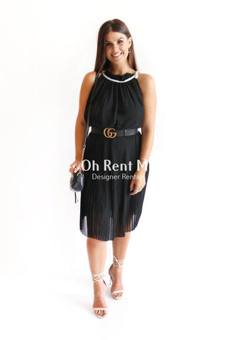 Rise and Unveil Mini Dress with overlay