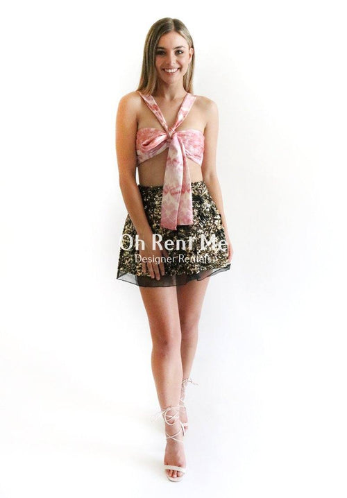 Winsome Bow Tie Dye Clothing Zimmermann