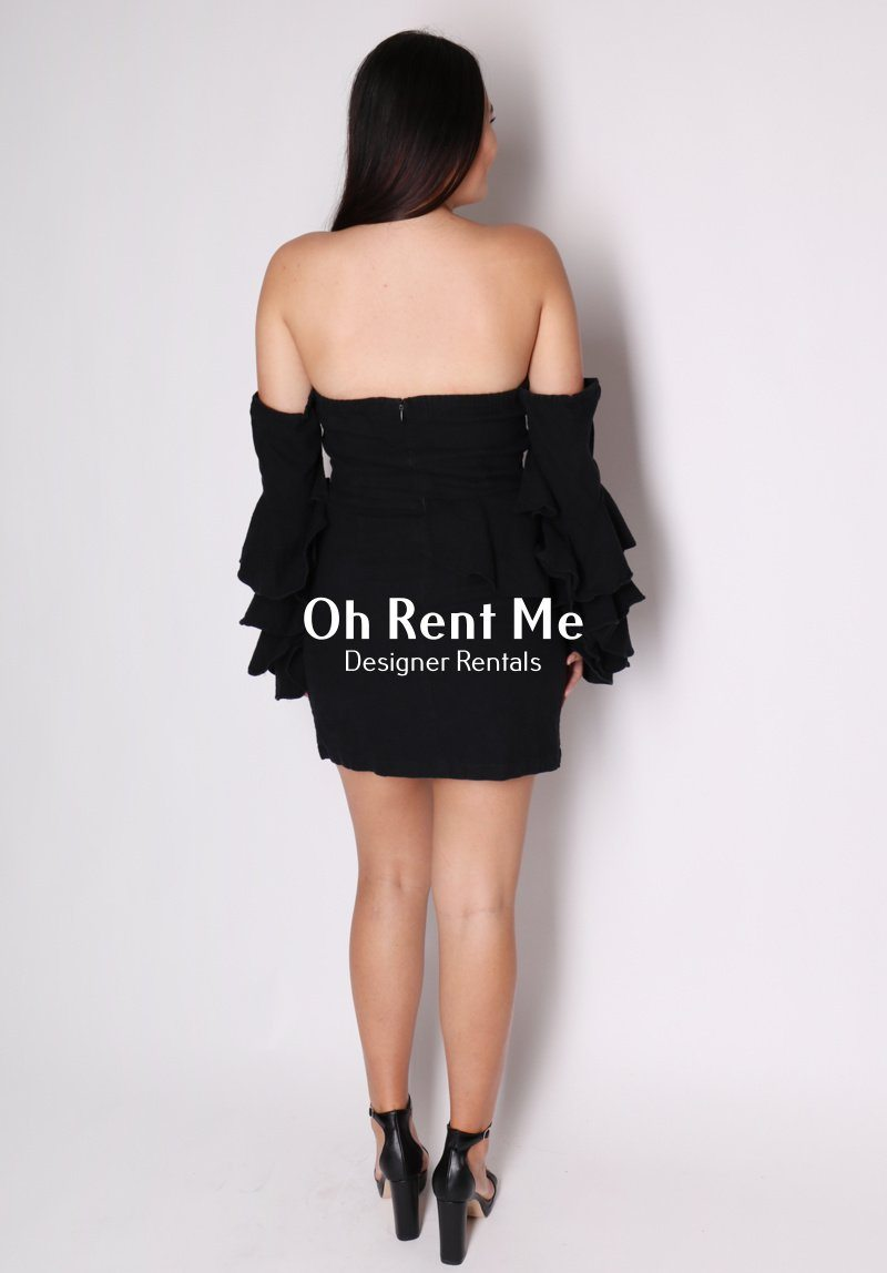 Eden Ruffle Dress Clothing MLM