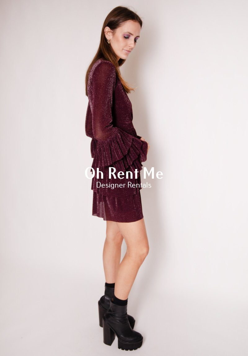 Elegantly Waisted Dress - Plum Clothing Stolen Girlfriends Club