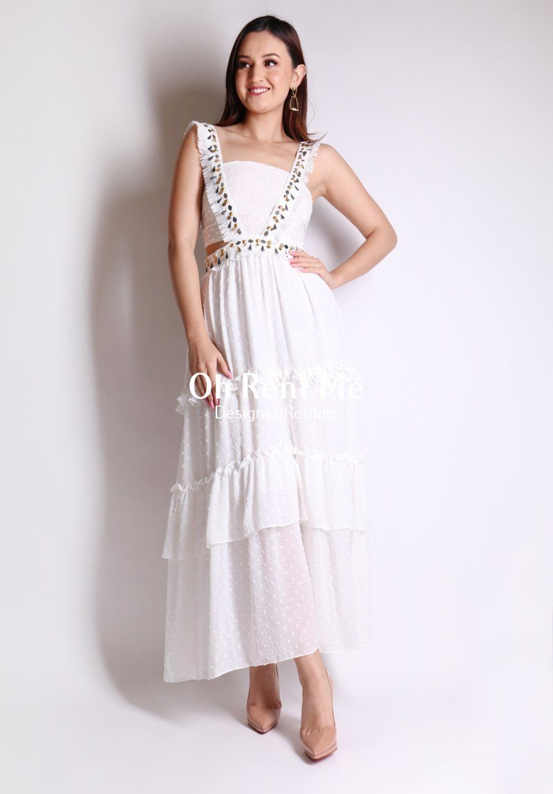 Forever Dress - White Clothing Ixiah