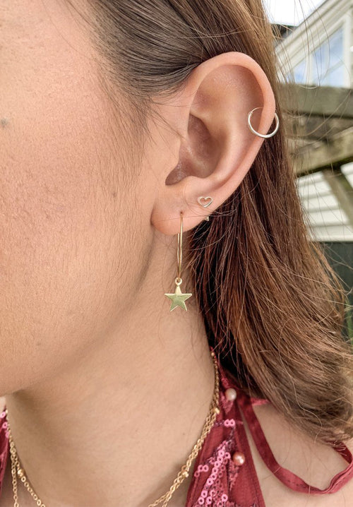 Starry Earrings - Gold Gift Card Oh Rent Me