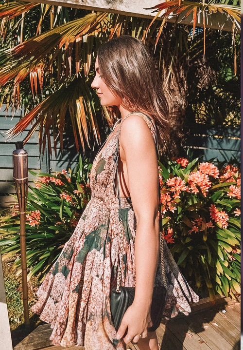 Heavy Petal Dress