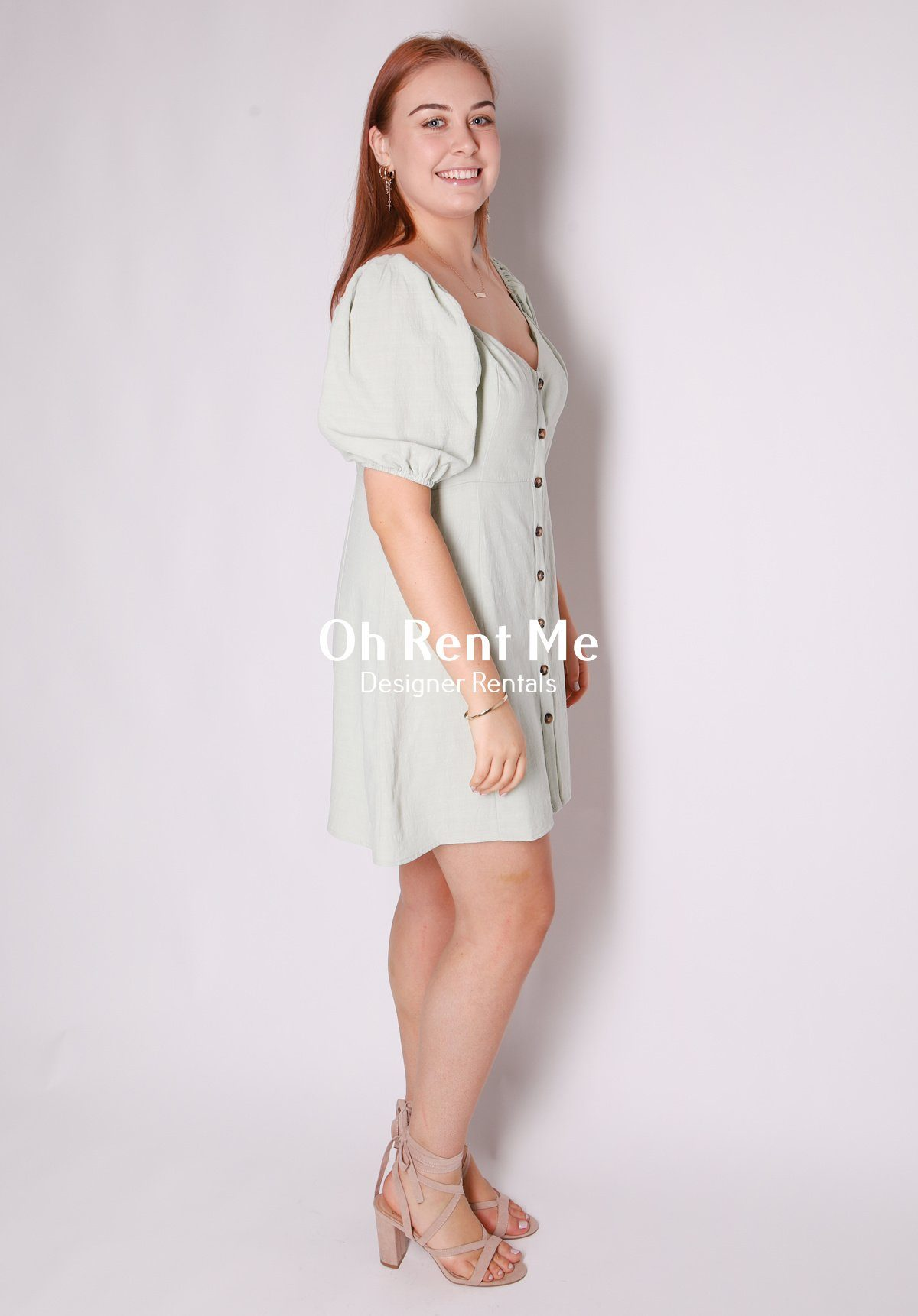Isabel Button Up Mini Dress Clothing Mika Muse