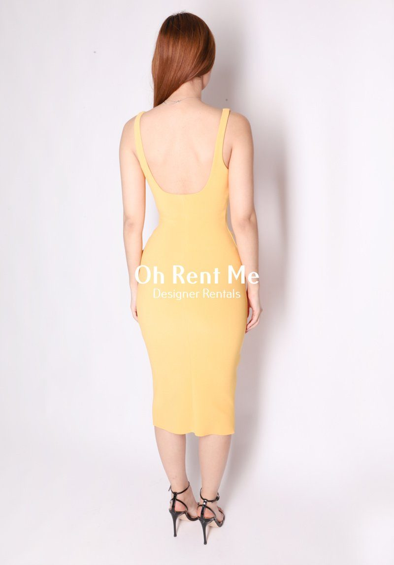 Karina Tuck Midi Dress - Tangerine Clothing Bec and Bridge