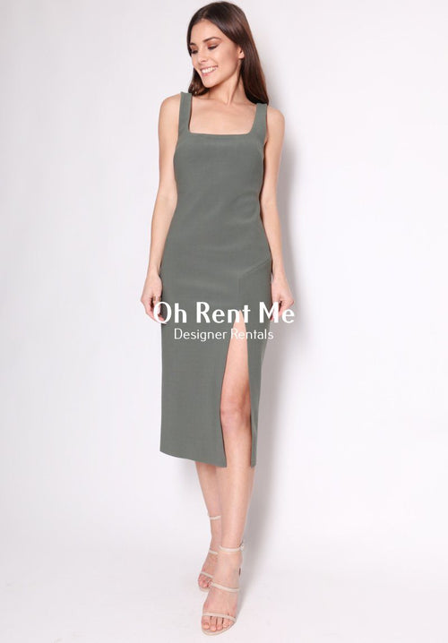 C'est Cool Dress - Khaki Clothing Bec and Bridge