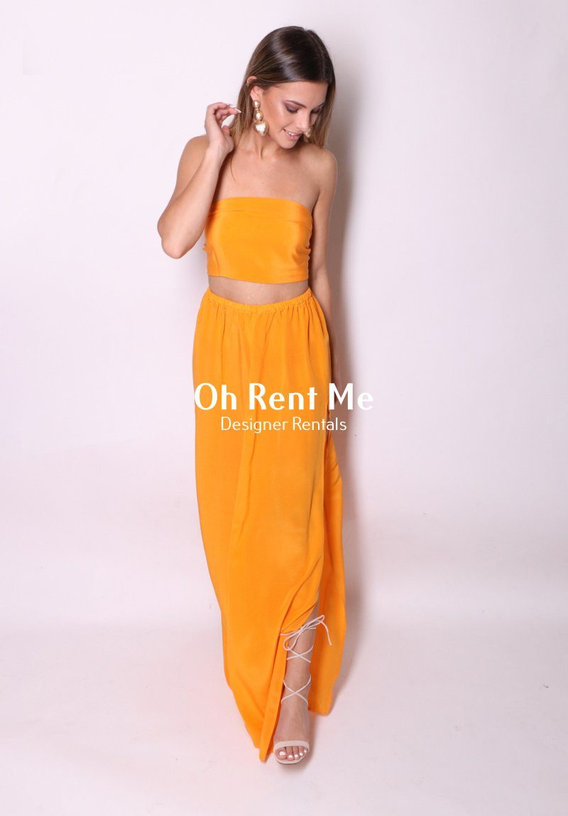 Tangerine Dream - Two Piece Gown